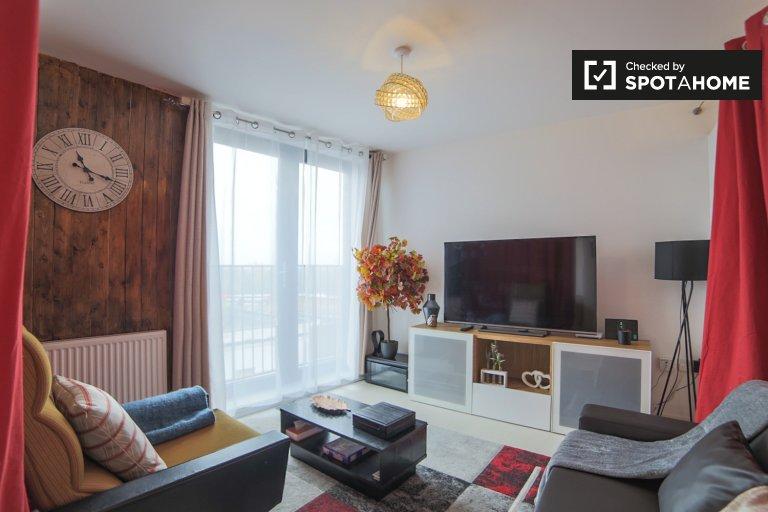 Stylowy apartament z jedną sypialnią do wynajęcia w Islington w Londynie