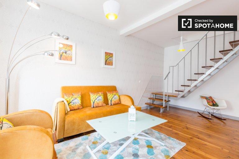 4-pokojowe mieszkanie do wynajęcia w Penha de França, Lizbona