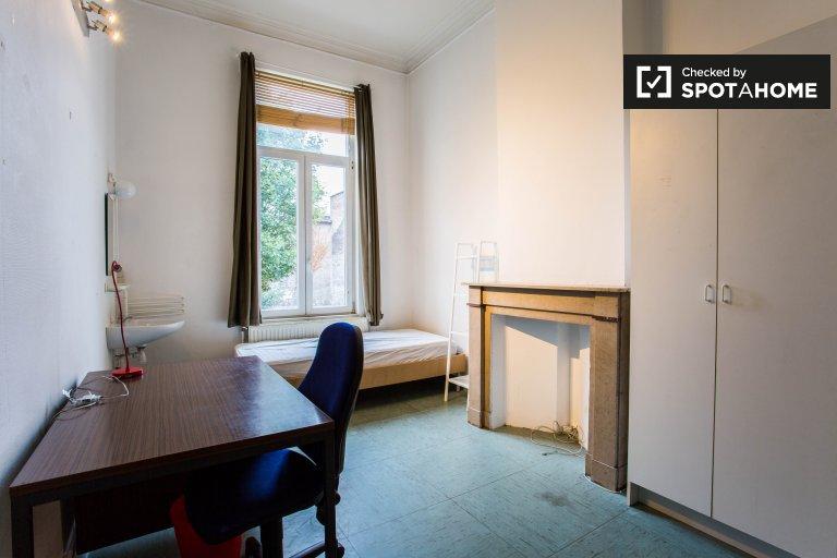 Saint Josse'de daire bulunan donatılmış oda, Brüksel