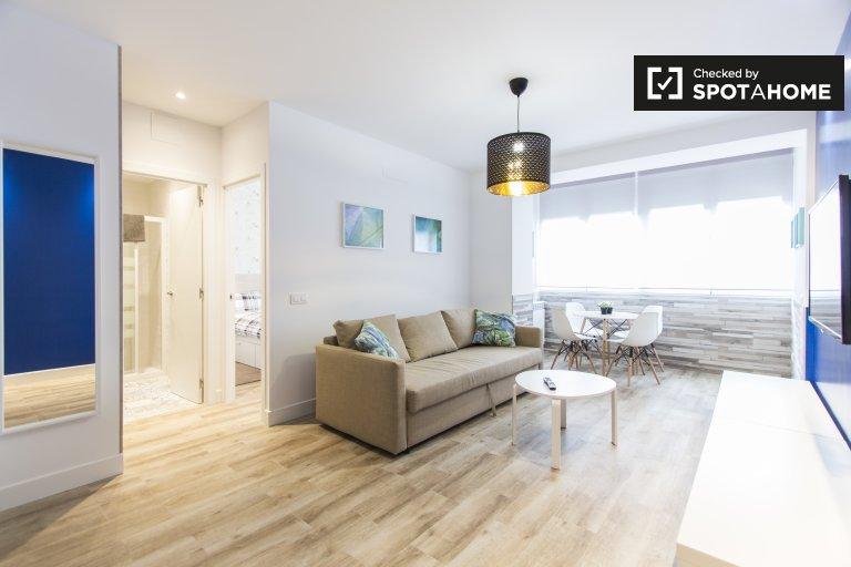 Lebhafte 1-Zimmer-Wohnung zur Miete in Atocha, Madrid