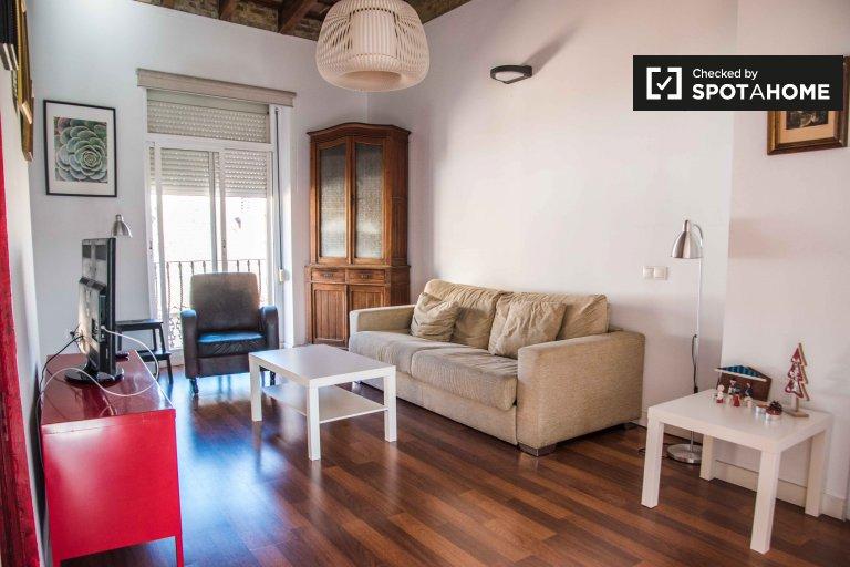 1-Zimmer-Wohnung zur Miete in Ciutat Vella, Valencia