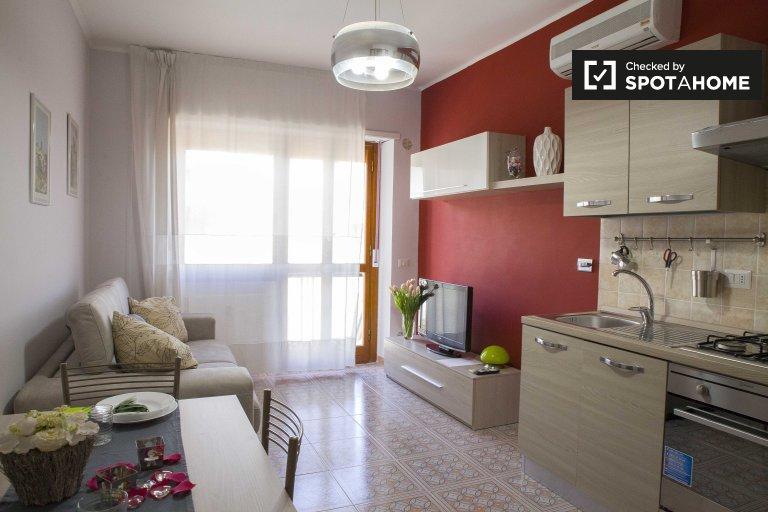 Charmant appartement 1 chambre à louer à Laurentina, Rome