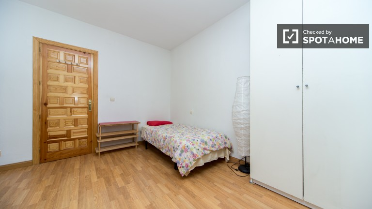 Large exterior single room with private balcony