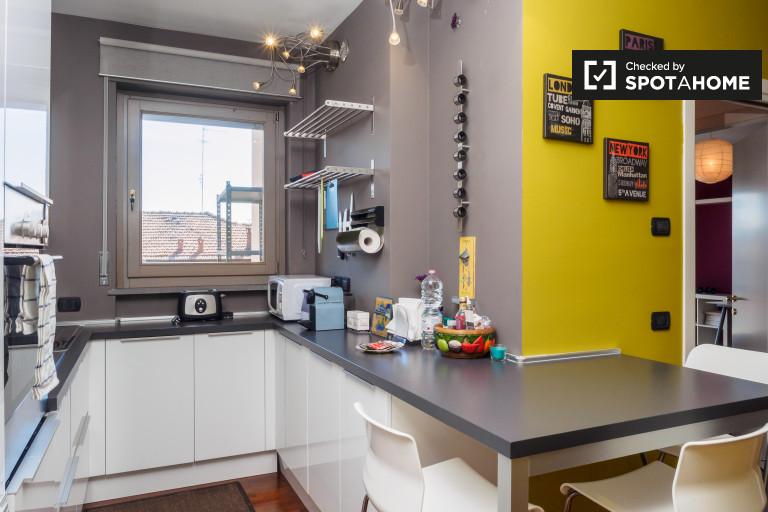 Schöne Studio-Wohnung zur Miete in Calvairate, Mailand