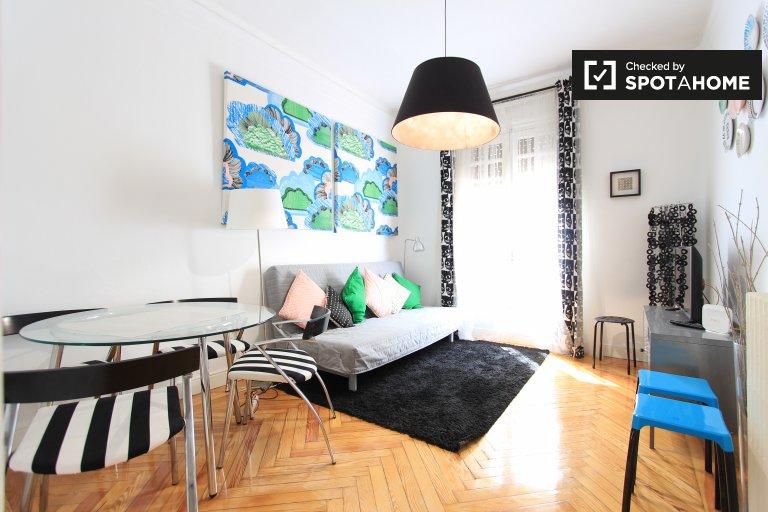 Appartamento con 1 camera da letto in affitto a Castellana, Madrid