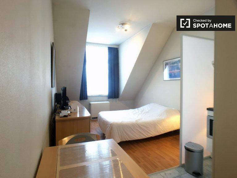 Cozy studio apartment for rent in European Quarter, Brussels