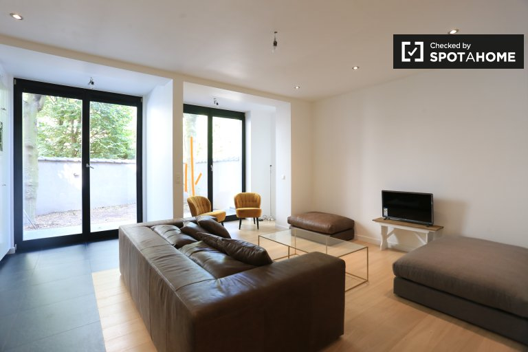 Pleasant 1-bedroom apartment for rent, Schaerbeek, Brussels