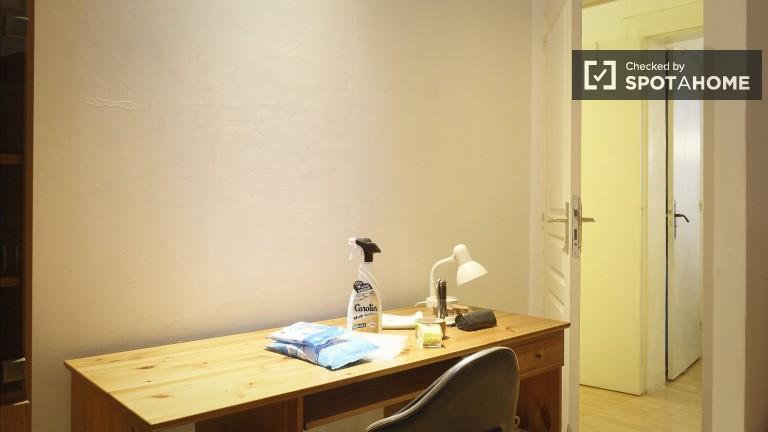 Salle de détente dans un appartement de 3 chambres à Paris