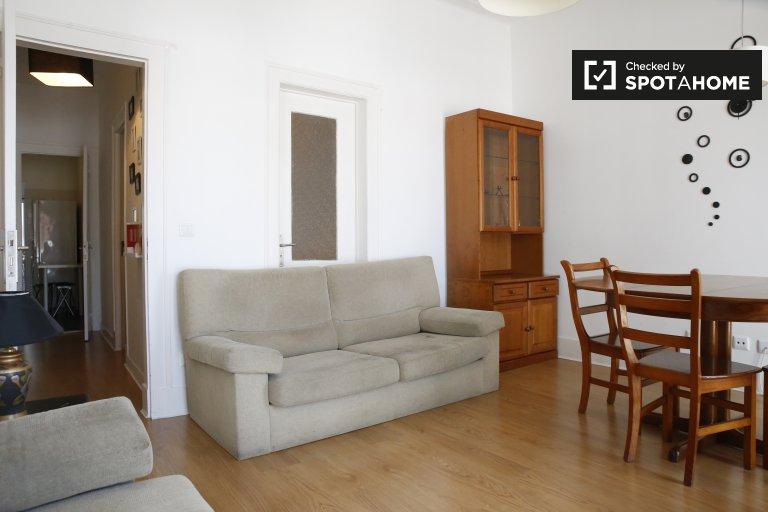 Appartement de 3 chambres à louer à Bairro Alto, Lisbonne