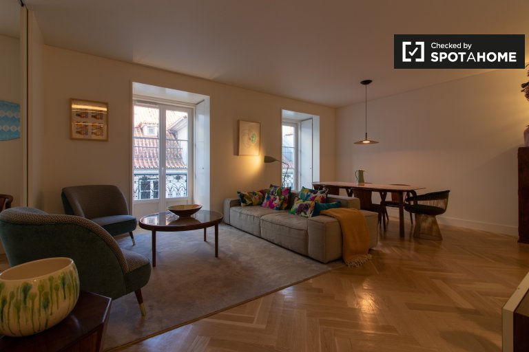 2-bedroom apartment for rent in Cais do Sodré, Lisbon