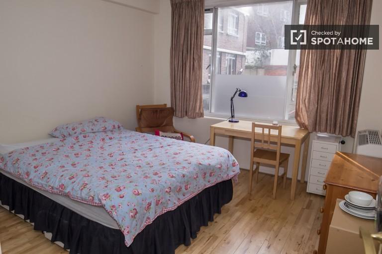 Islington, Londra'da 2 yatak odalı daire bulunan dinlendirici oda