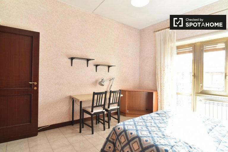 Bedroom 4 with Double Bed and Private Balcony