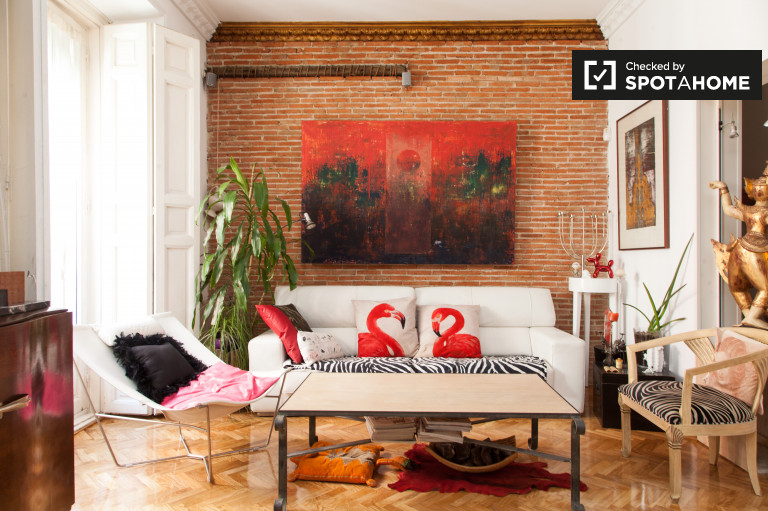 3-bedroom apartment for rent in Lavapies, Madrid