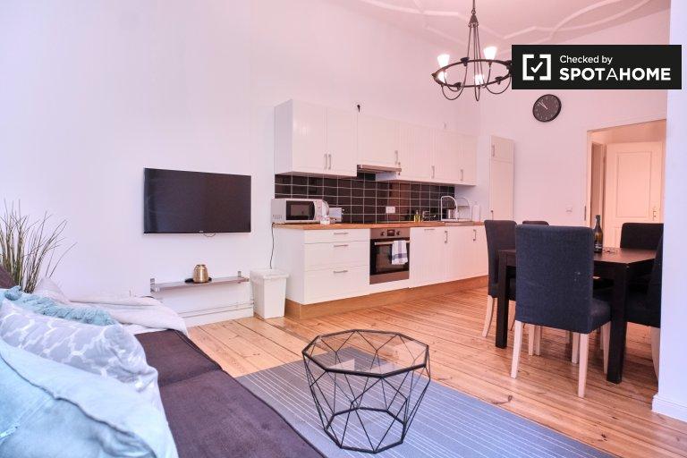 Modernes Apartment mit 3 Schlafzimmern zu vermieten in Mitte, Berlin