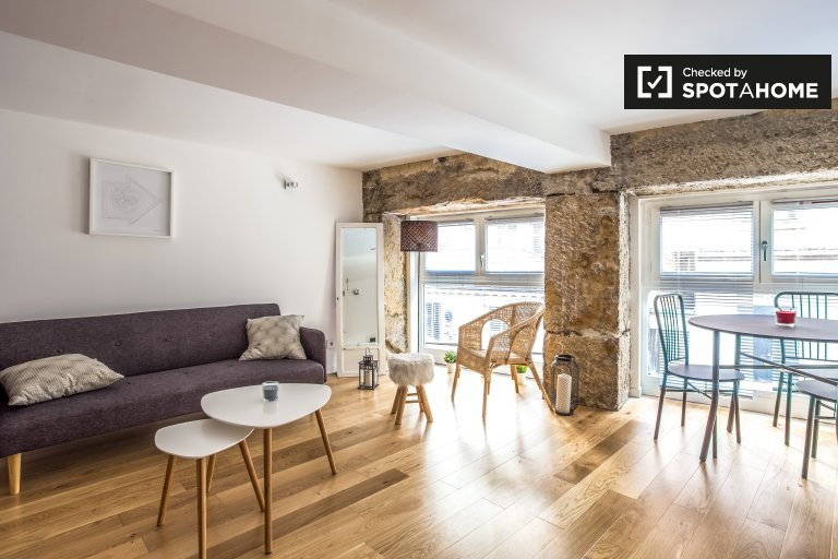 Stylish studio apartment for rent in Slopes of the Croix-Rousse
