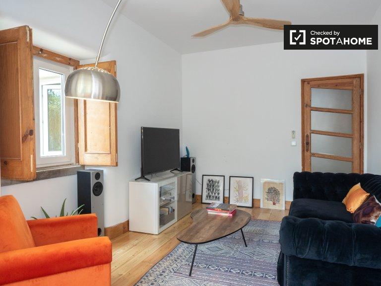 Lizbon Belem'de kiralık 3 yatak odalı daire