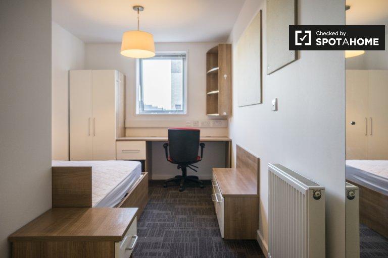Acogedora habitación en residencia en Islington, Londres
