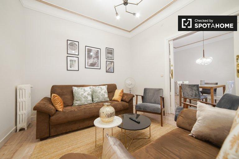 Piękny 5-pokojowy apartament do wynajęcia w Salamance w Madrycie