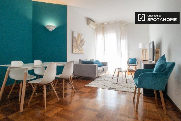 Apartamento com 2 quartos para alugar em De Angeli, Milão