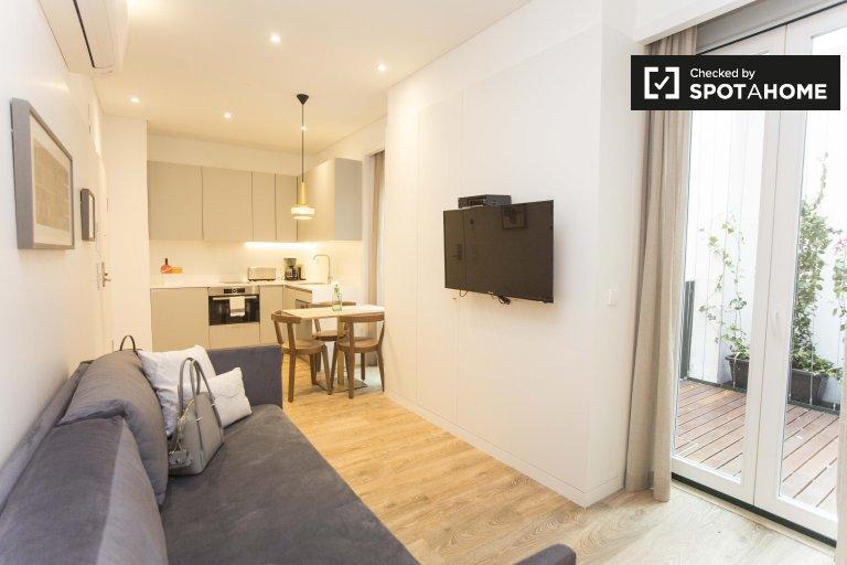 Apartamento para alugar em Cais do Sodré, Lisboa