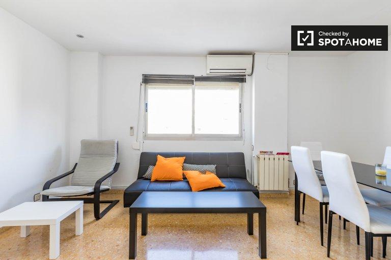 Möblierte 3-Zimmer-Wohnung zur Miete in Algirós, Valencia