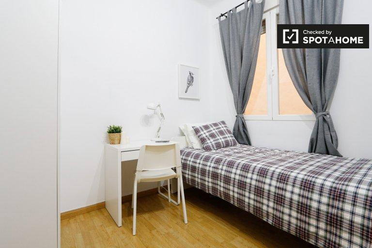 Salamanca, Madrid'de kiralık şirin oda