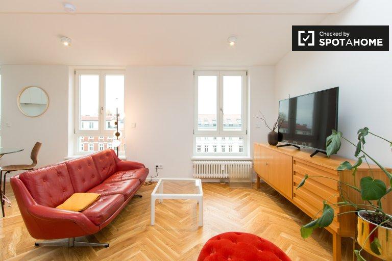 Mod Studio-Wohnung zur Miete in Prenzlauer Berg, Berlin