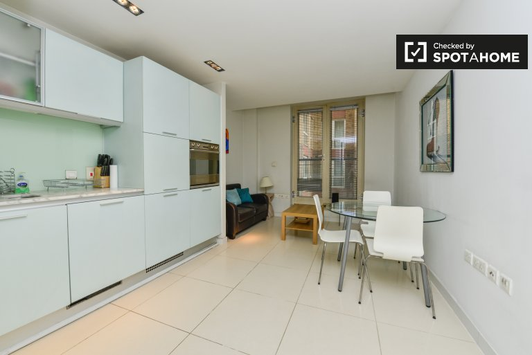 Apartamento de 1 dormitorio en alquiler en City of London, Londres