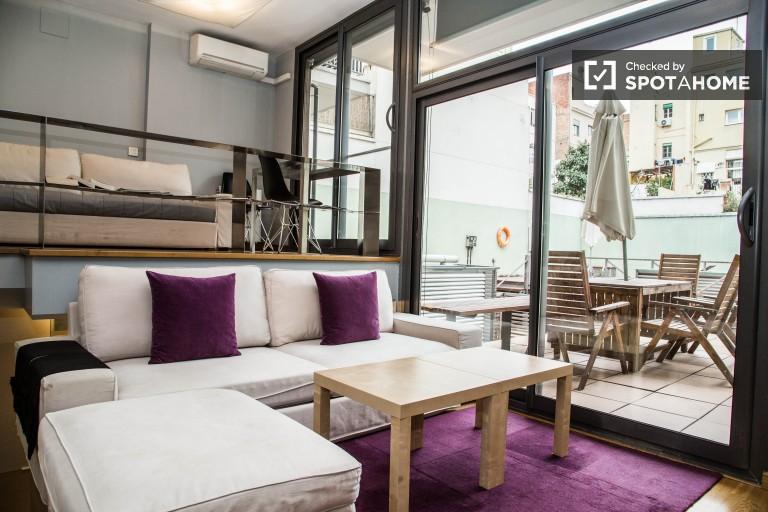 Lofted Studio Appartement de luxe Let dans Gracia - Barcelone