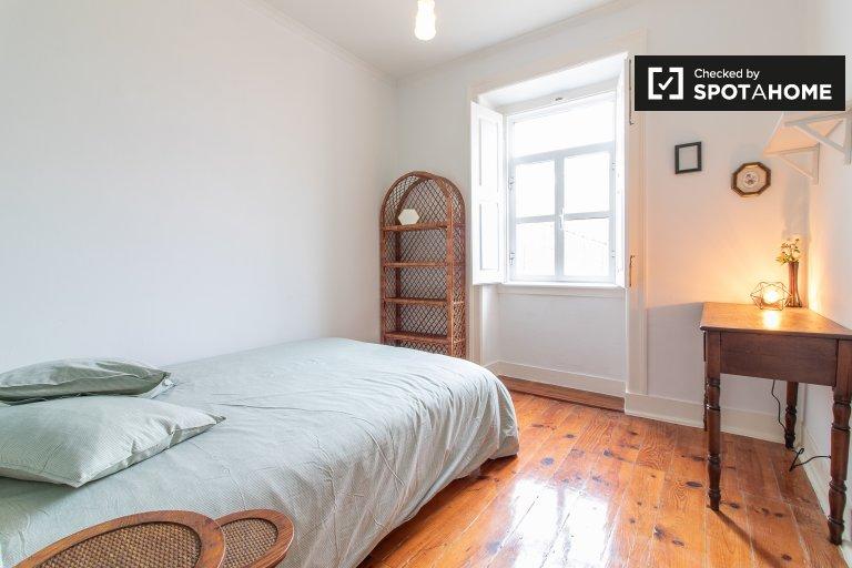 Camera in affitto in appartamento con 4 camere da letto, Arroios, Lisbona
