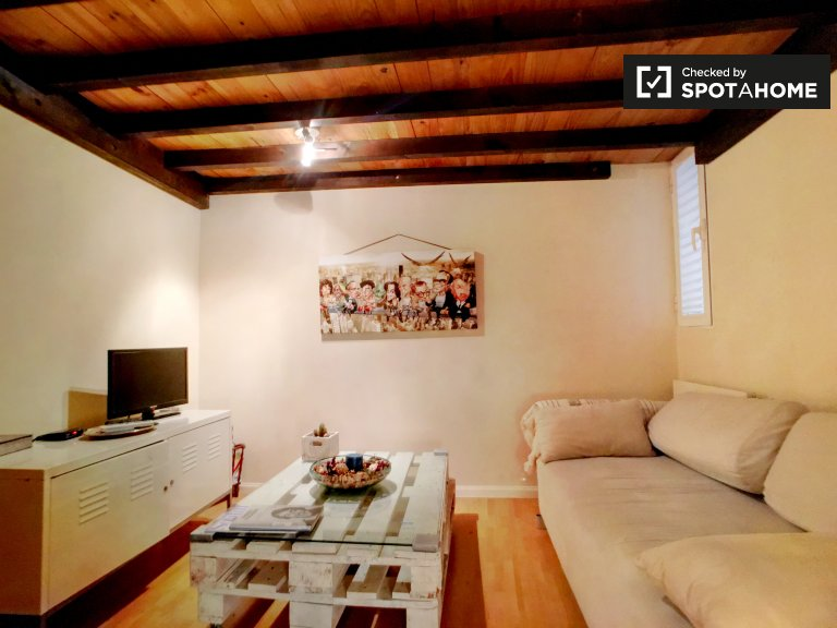 Furnished studio for rent in Imperial, Madrid