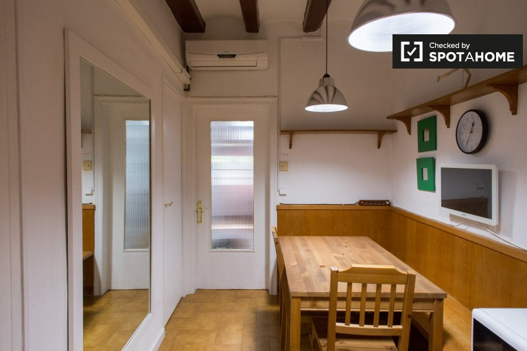 Spacious 1-bedroom apartment for rent in Sants, Barcelona