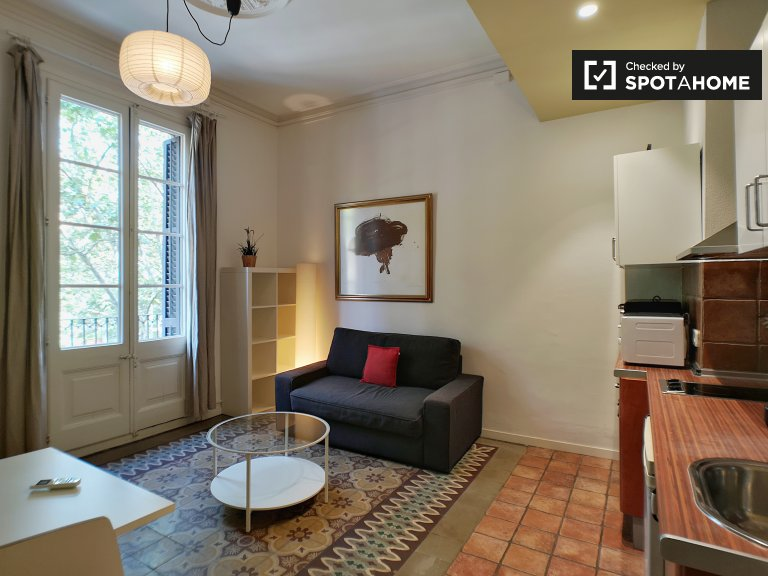 Classic 2-bedroom apartment for rent in El Raval, Barcelona