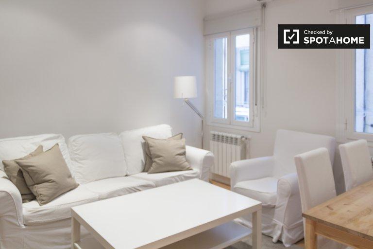 Brilhante apartamento de 2 quartos para alugar em Salamanca, Madrid