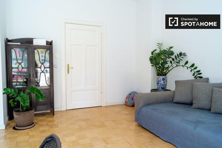 Apartamento chique com 2 quartos para alugar em Kreuzberg, Berlim