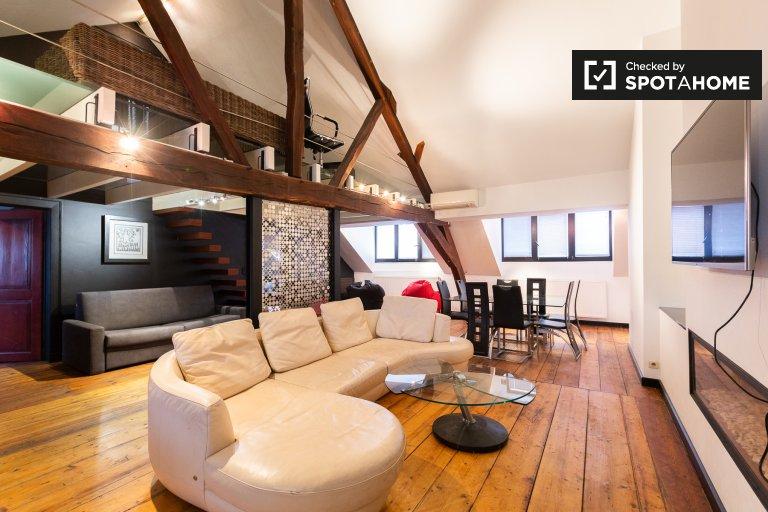 Apartamento de 2 dormitorios en alquiler en el centro de la ciudad, Bruselas.