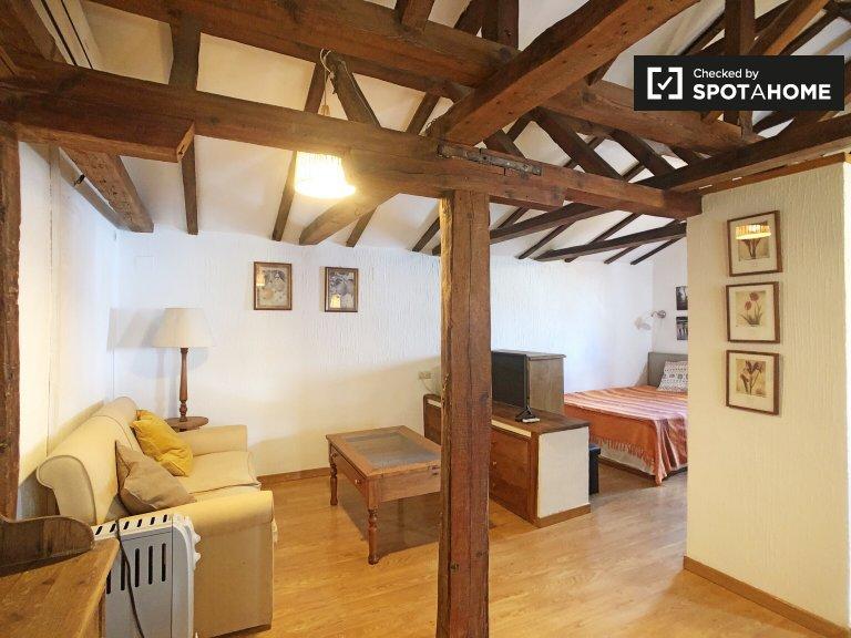 Estudio rústico en alquiler en Salamanca, Madrid