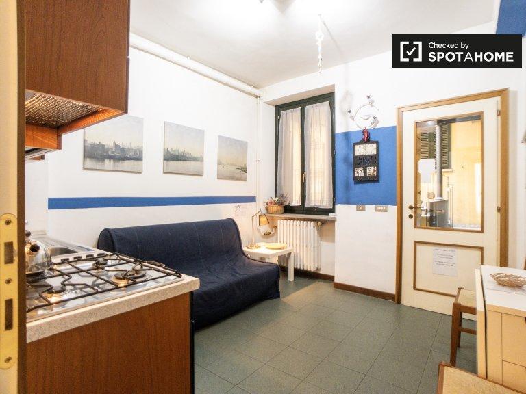 Apartamento de 1 dormitorio en alquiler en Ticinese, Milán