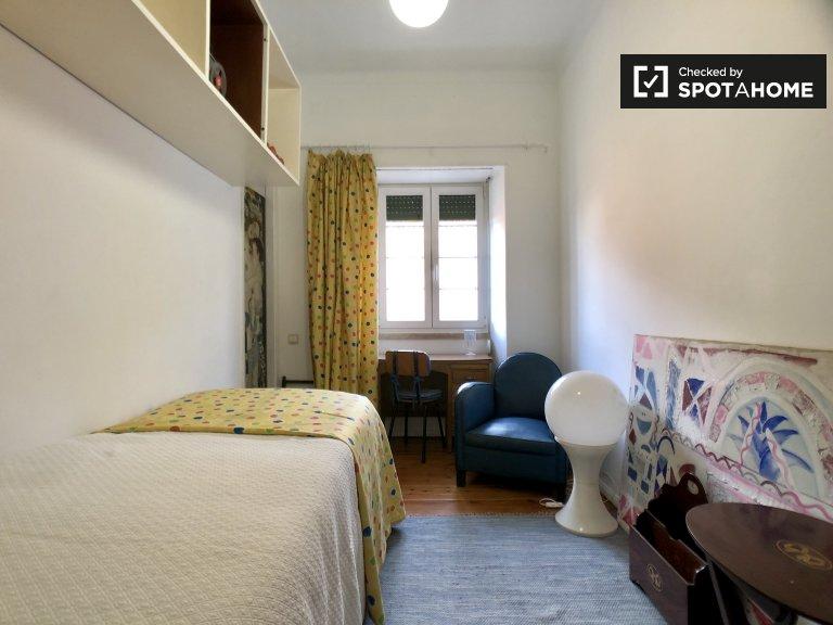 Pokój do wynajęcia w 5-pokojowym mieszkaniu w Paço de Arcos