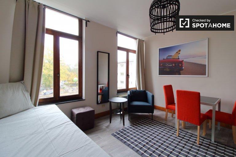 Schönes Zimmer zu vermieten in Saint-Gilles, Brüssel