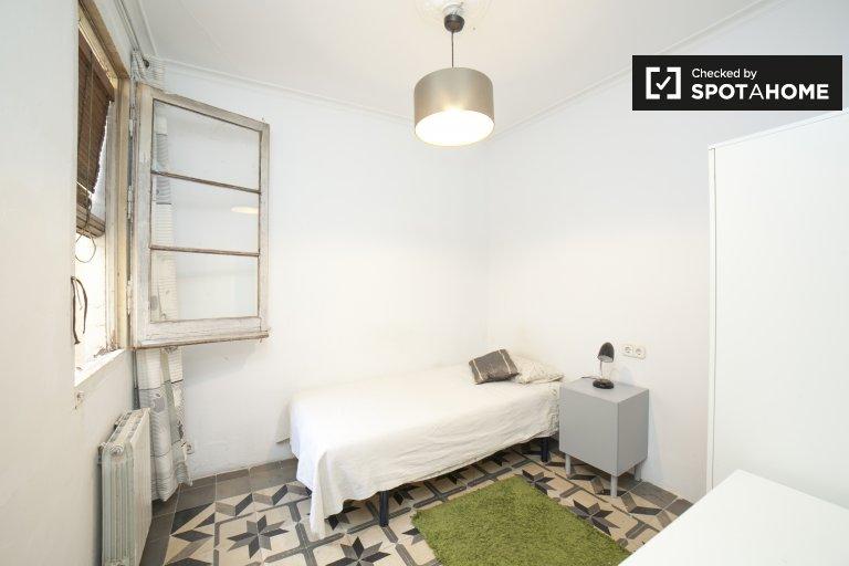 Entspannungszimmer in einer Wohngemeinschaft in Eixample, Barcelona