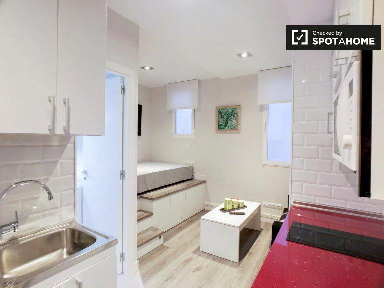 Unabhängige Studio-Wohnung zur Miete in Acacias, Madrid