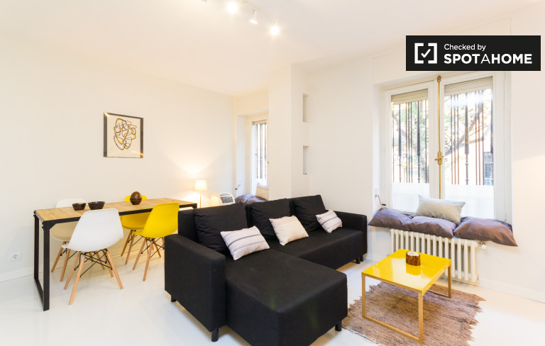 Very stylish 1-bedroom apartment for rent in Retiro