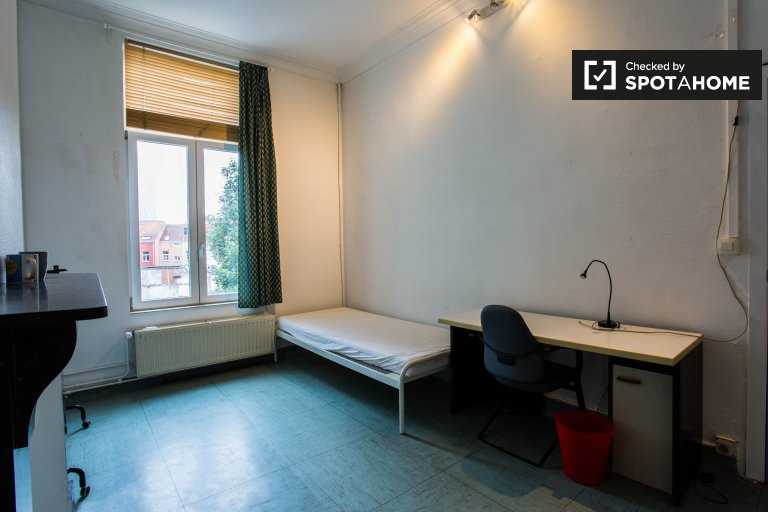 Decorated room in apartment in Saint Josse, Brussels