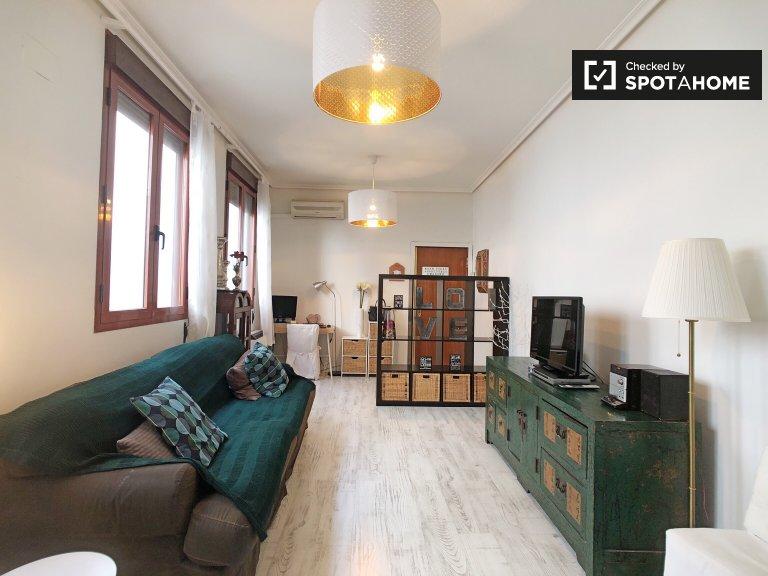 Apartamento de 1 quarto de Encanto para alugar em Malasaña, Madrid