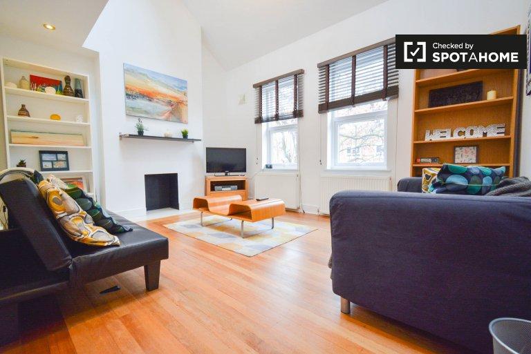 Elegante apartamento com 2 quartos para alugar em Lambeth, Londres