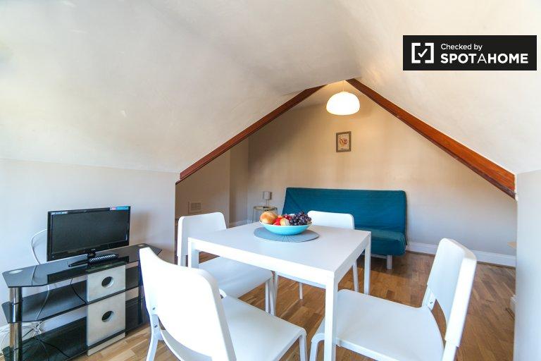 Lumineux appartement 1 chambre à louer à Cricklewood, Londres