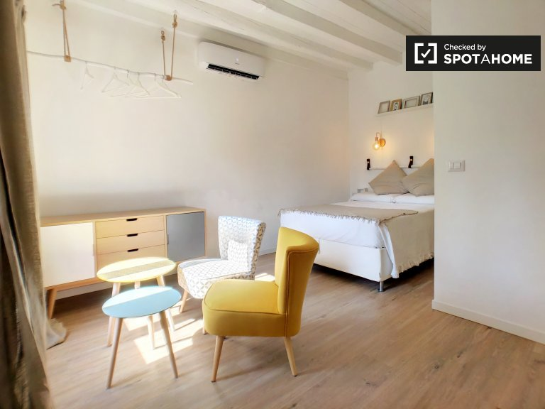 Stylish studio apartment for rent in Isola, Milan