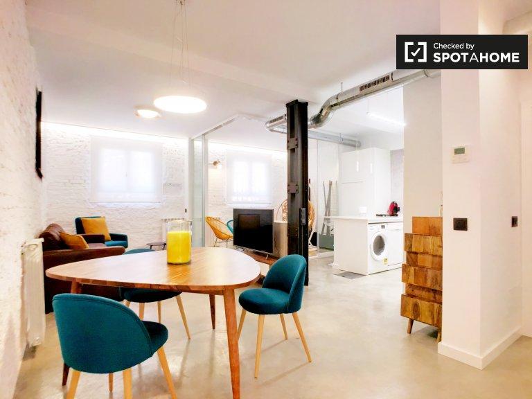 2-pokojowe mieszkanie do wynajęcia w Retiro, Madryt