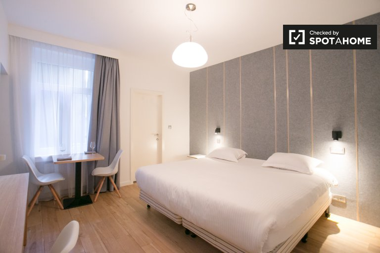 Modern studio apartment for rent in Center, Brussels